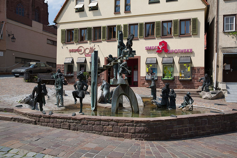 Narrenbrunnen am Speidelsberg
