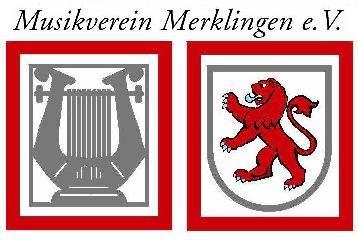 Musikverein mit beiden Wappen