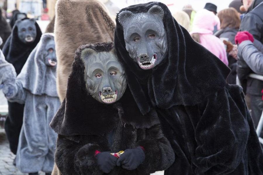 Einklinker Bären