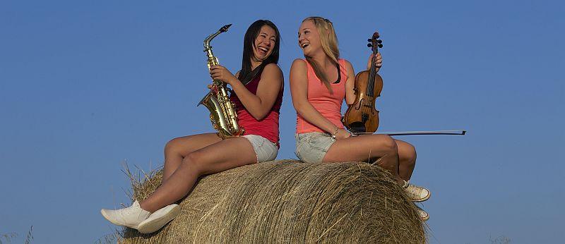 Musikschule - Mädels