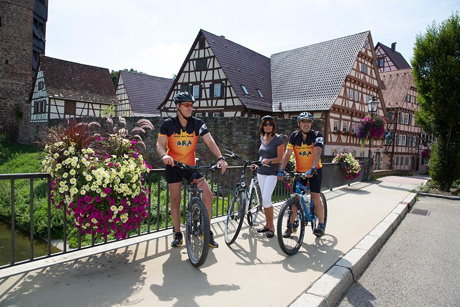 Weil der Stadt bietet sich als ideales Zwischenziel für Radtouren bestens an.
