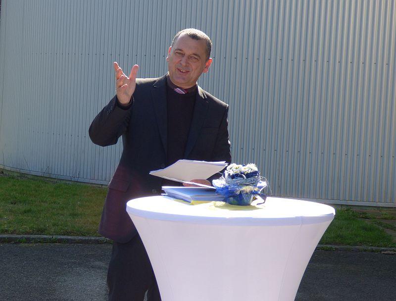 Kläranlagen - Eröffnungsrede BM Schreiber