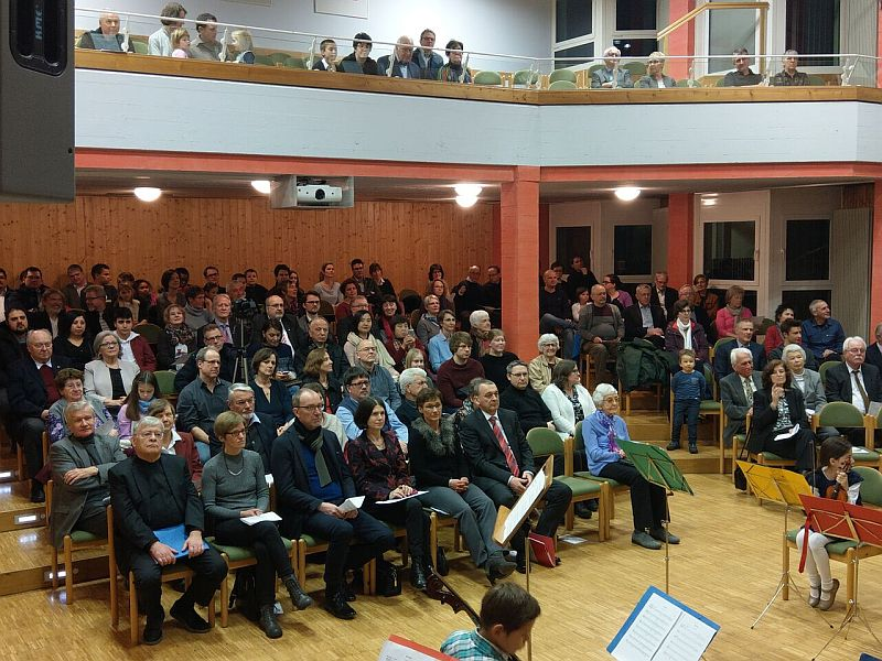 Publikum Musikschuljubiläum