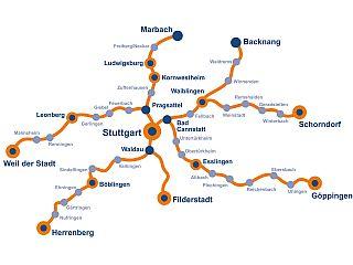 Streckenverlauf RadSternfahrt 2018
