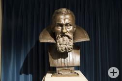 Kepler-Büste im Museum