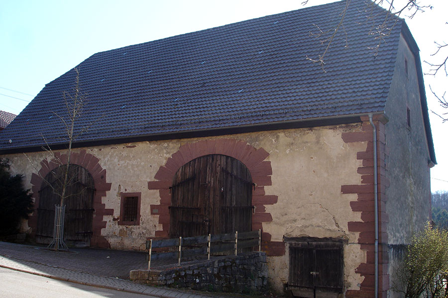 Zehntscheuer in Schafhausen