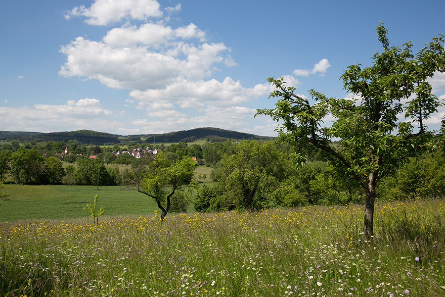 Landscape around Hausen