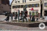 Narrenbrunnen am Speidelsberg