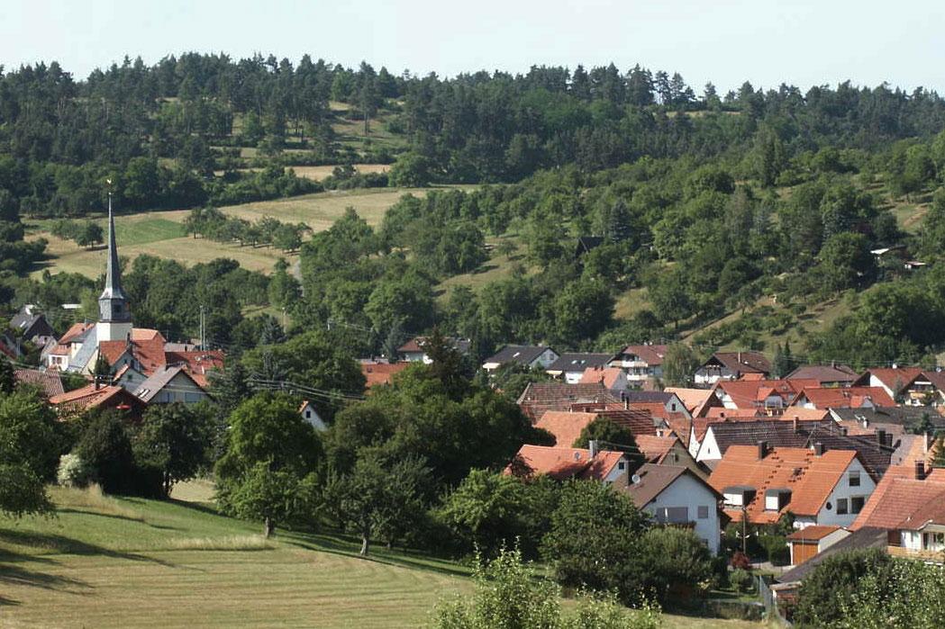 Blick auf Münklingen