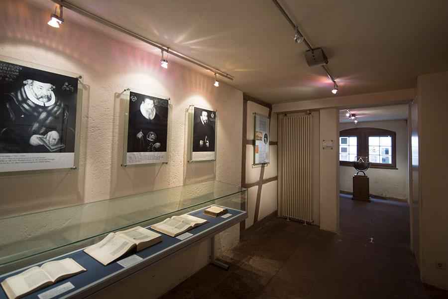 Ausstellung im Kepler-Museum