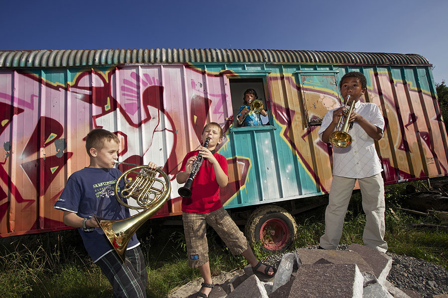 Bläserensemble der Musikerschule