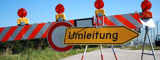 Baustellen & Verkehrsinfos