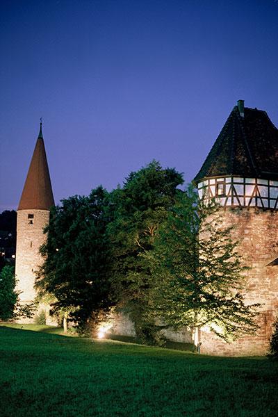 Roter Turm und Storchenturm