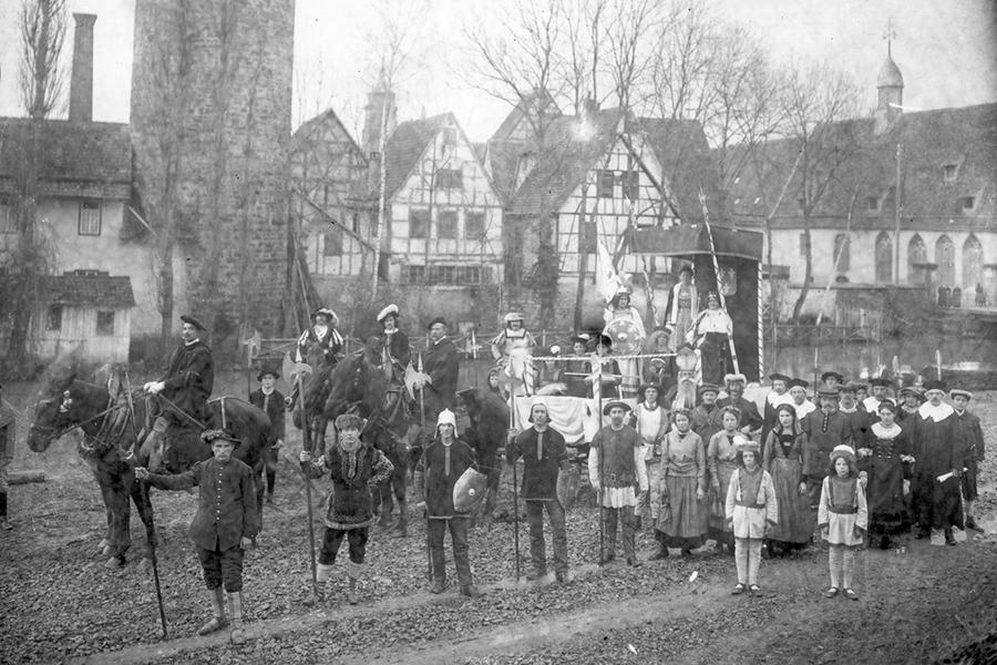 Fastnachtsspiel in Weil der Stadt (1913)