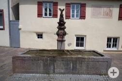 Delphinbrunnen in der Stuttgarter Straße