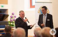 Erwin Teufel und Arne Lienau