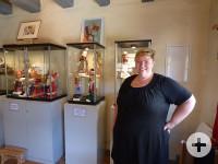 Julia Kleespieß im Puppenmuseum