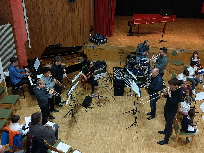 Jazzcombo der Musikschule