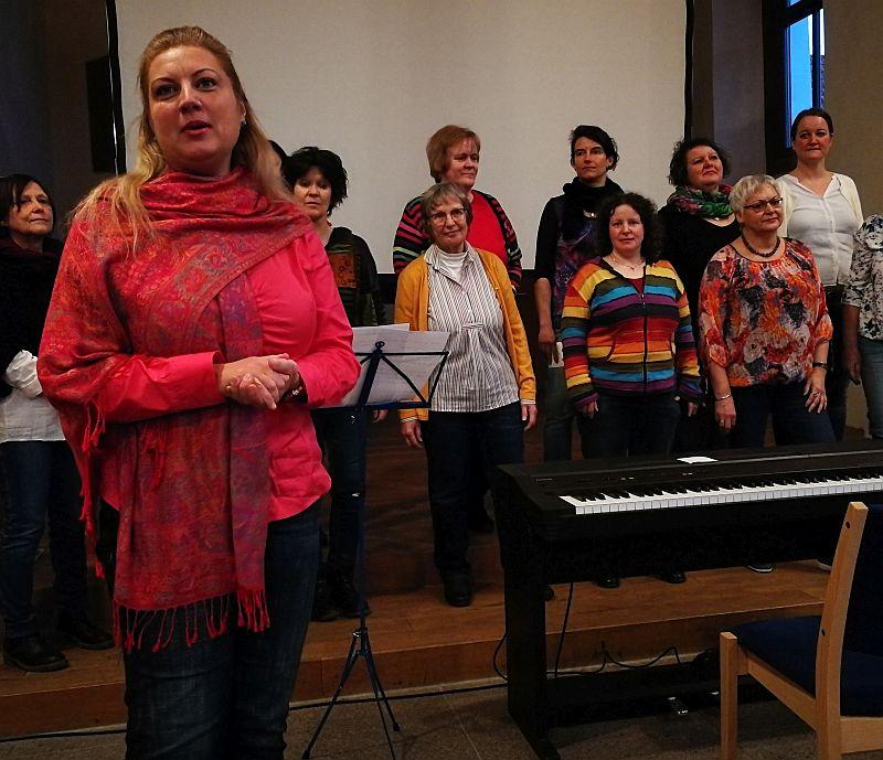 Frauenchor mit Tijana Velic
