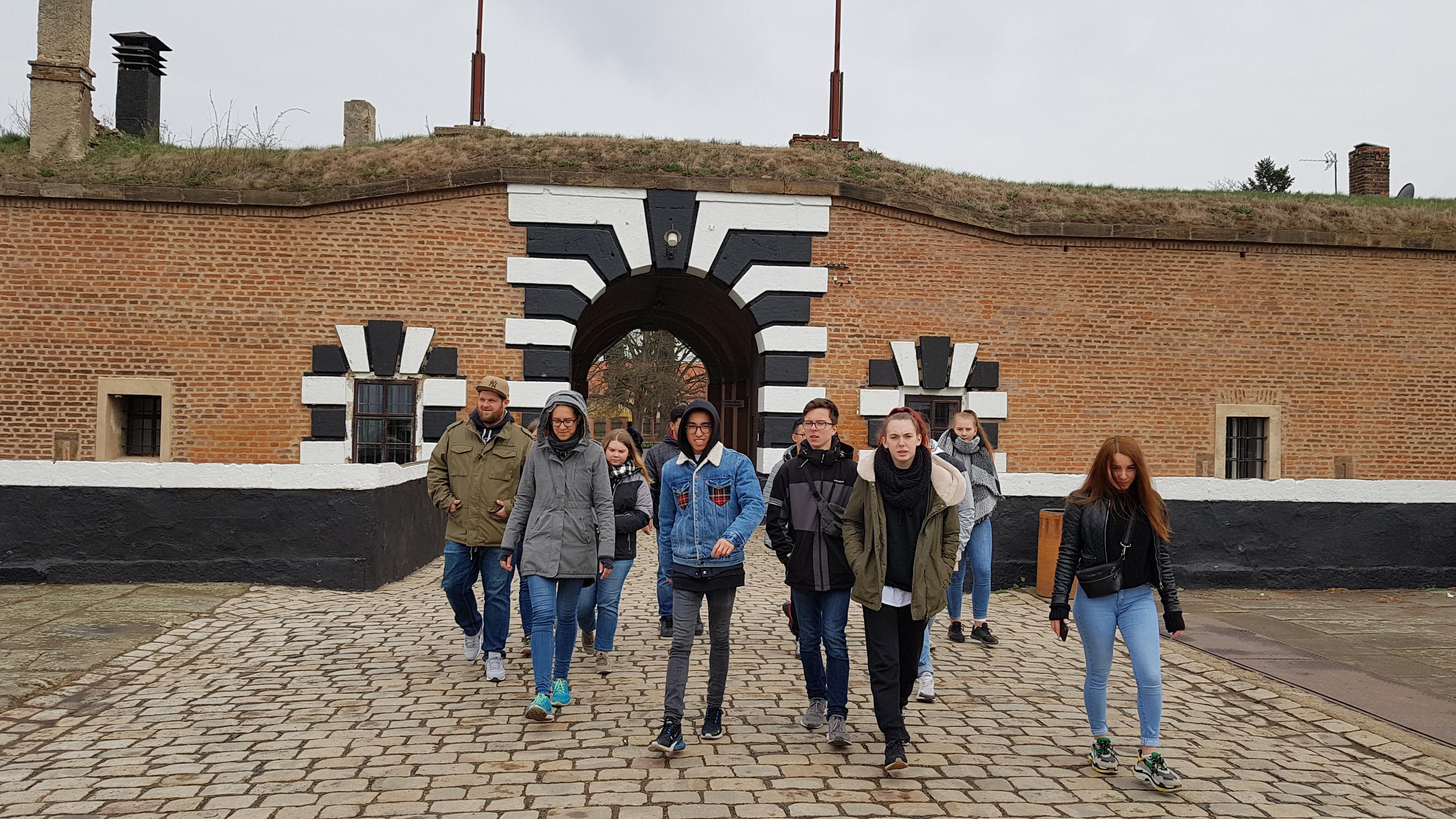 Jugendbeirat besichtigt Theresienstadt