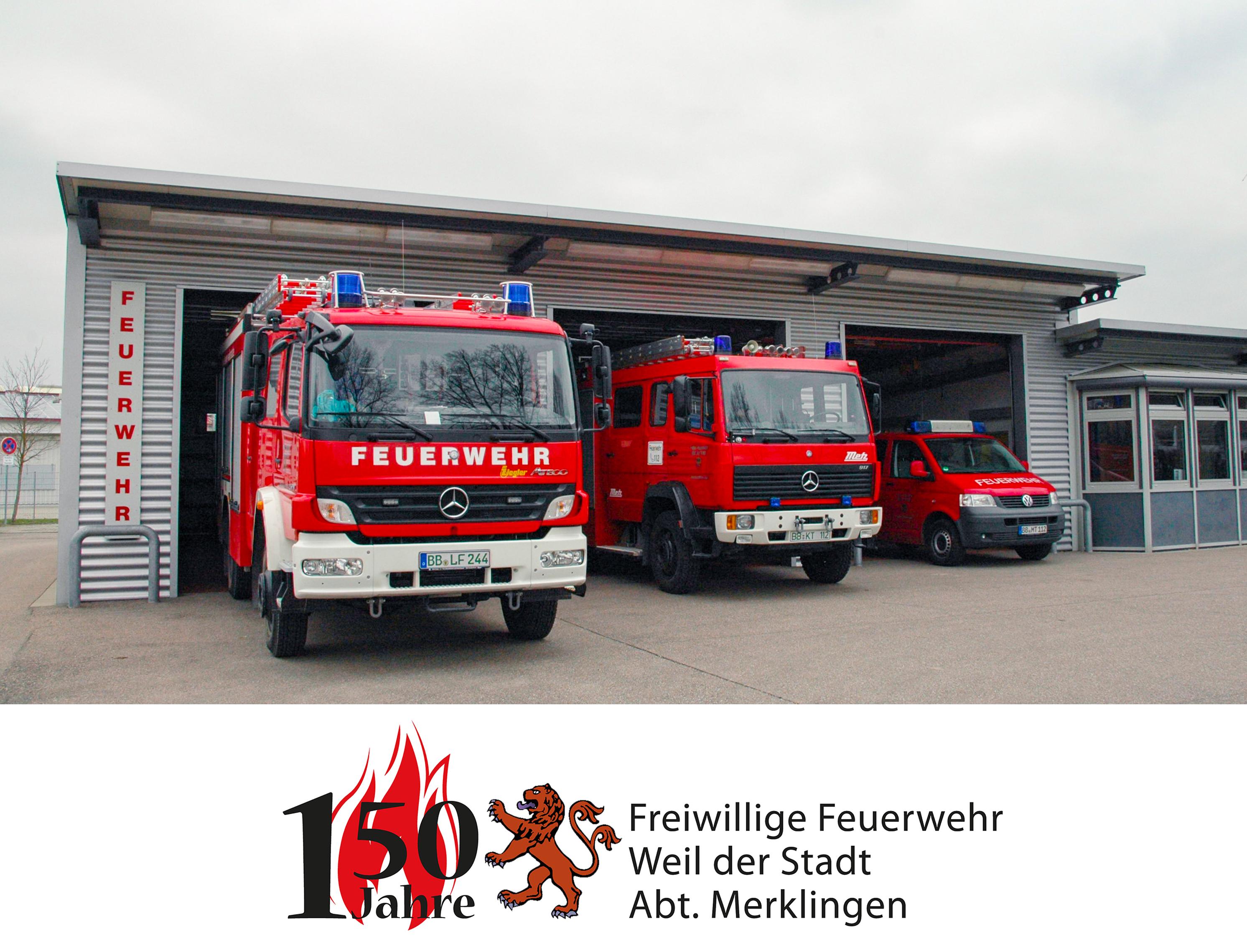 150 Jahre Feuerwehr Merklingen