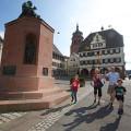 Schöner Weiler Marktplatz