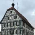 Rathaus Merklingen von außen
