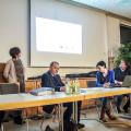 Infoveranstaltung Schafhausen - Redner