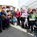 Eröffnung Offener Bücherschrank in Hausen