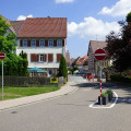 Einbahnregelung Hermann-Schnaufer-Straße