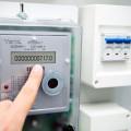 Moderner Stromzähler