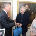 Bürgermeister Schreiber begrüßt Nikolai Budarin