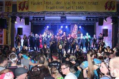 Mixtour fast komplett am Musikerball in Weil der Stadt 2018