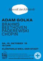 Plakat Adam Golka 2019