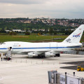 SOFIA am Flughafen Stuttgart