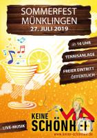 Sommerfest Münklingen 2019