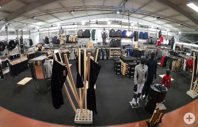 Ein kleiner Teil unserer Ausstellung im Workwear Zentrum Böblingen