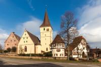 Kirchenburg Merklingen. Foto: Hans Walz