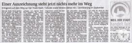 Schwarzwälder Bote vom 10. Mai 2014
