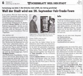 Wochenblatt 22. Mai 2014 Seite 2