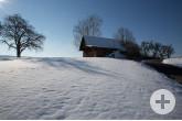 Schneelandschaft bei Münklingen