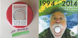 Titel Jubiläumsprospekt Kunstforum