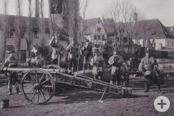 Fastnachtsspiel in Weil der Stadt (1903)