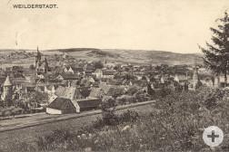 Postkarte von Weil der Stadt (1911)