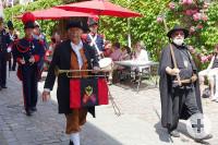 Bürgergarde und Nachtwächter Weil der Stadt zum Reichsstadtfest in Bad Wimpfen