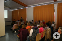 Vortrag (Copyright Verlag LEO aktiv)