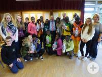 Besuch aus Tansania in der Würmtalschule