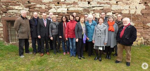 Gruppenbild der neuen Stadtführer