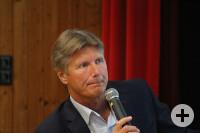 Gennady Padalka beim Vortrag