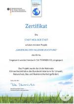 Zertifikat JKG